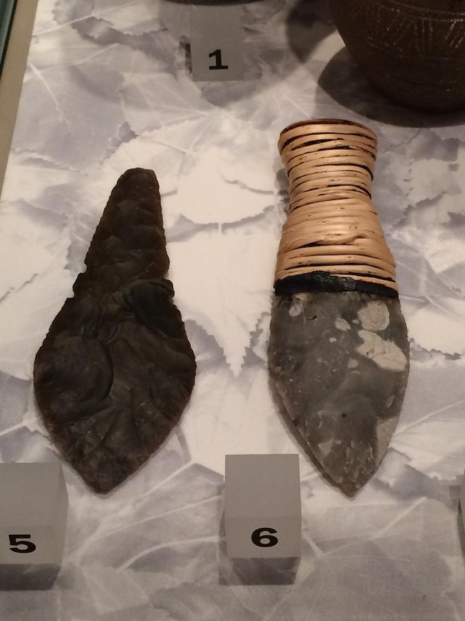 Flint knives