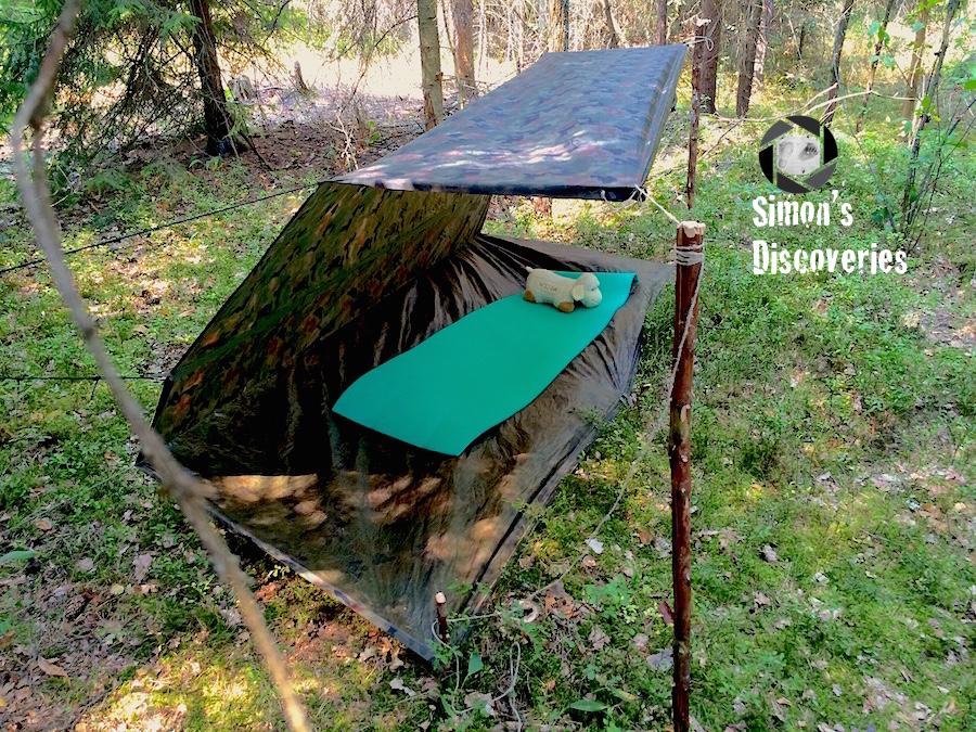 Tarp Half Tent