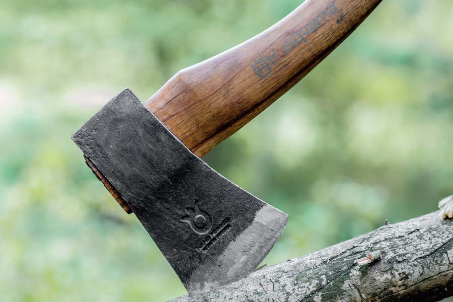 Husqvarna Hatchet close up