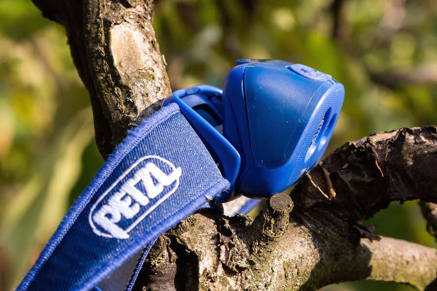 PETZL TIKKA plus side
