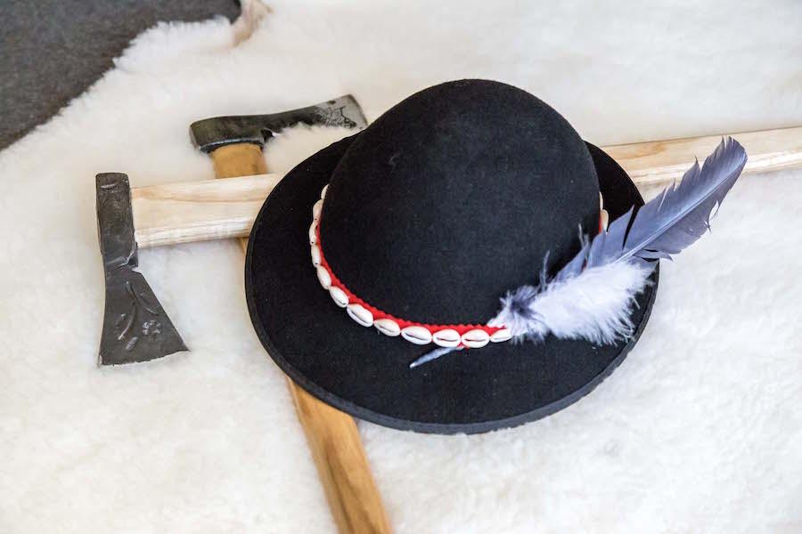 Ciupagi i kapelusz