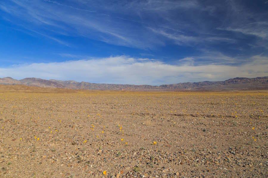 Desert Death Valley Dolina Smierci